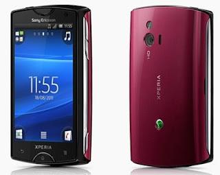 Sony Ericsson Xperia mini Android OS Phone