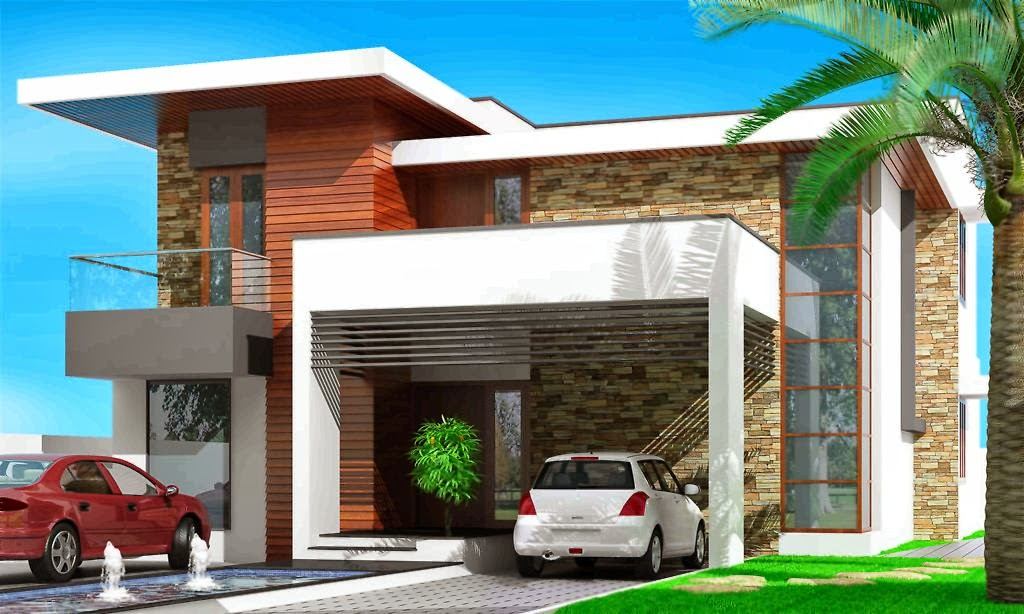 Evens Construction Pvt Ltd: CONTEMPORARY KERALA HOME DESIGN
