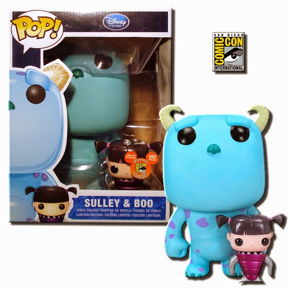 Metallic Boo & 9″ Sulley Funko Pop! (SDCC 2012)