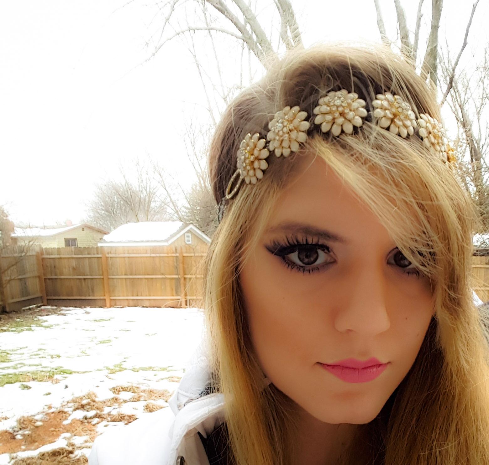 Loud Beauty Diy Winter Princess Flower Headband