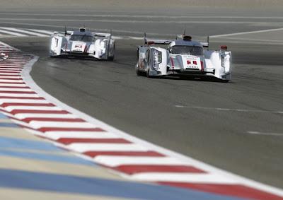 WEC 2012 6 Heures de Bahreïn : Audi réalise un doublé