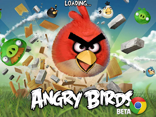 Angry Birds on Google Chrome