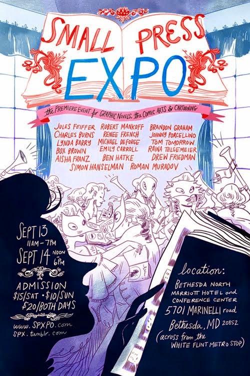 Small Press Expo (SPX) :: September 13-14, 2014