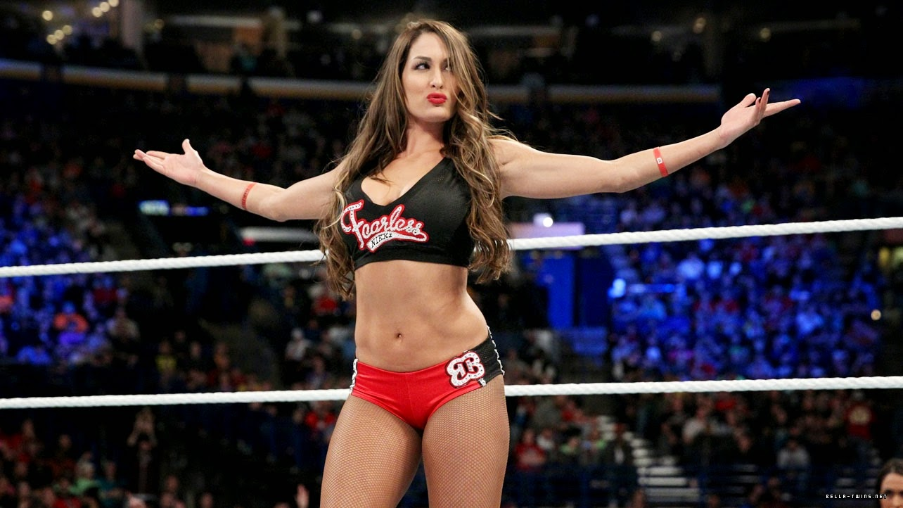 Wwe wrestling raw smackdown the divas - Diva nikki bella ...