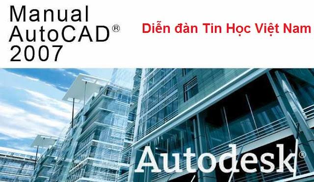 link download autocad 2007 va huong dan co ban ve autocad