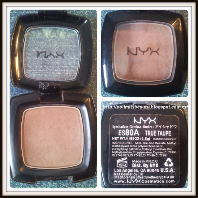 NYX Eyeshadow True Taupe