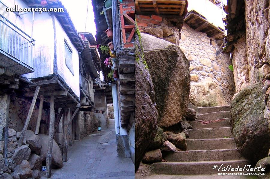 Las casas del Canchal. Rebollar, Valle del Jerte
