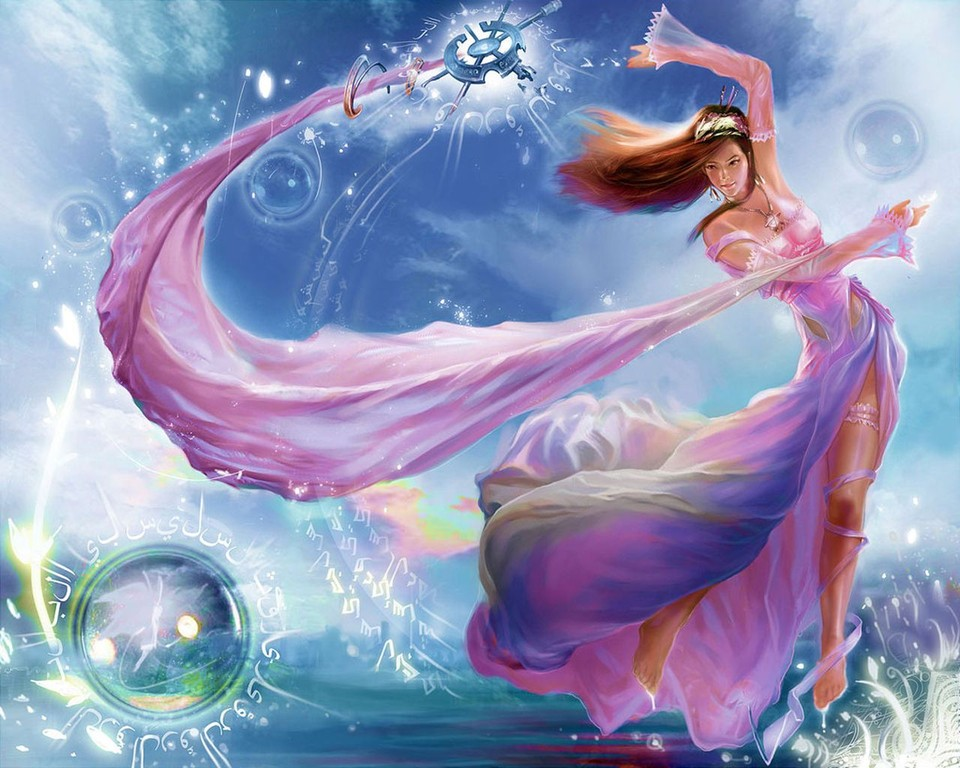 water fairy wallpaper beautiful - photo #1