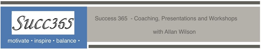 Success365, Author, Speaker and Coach