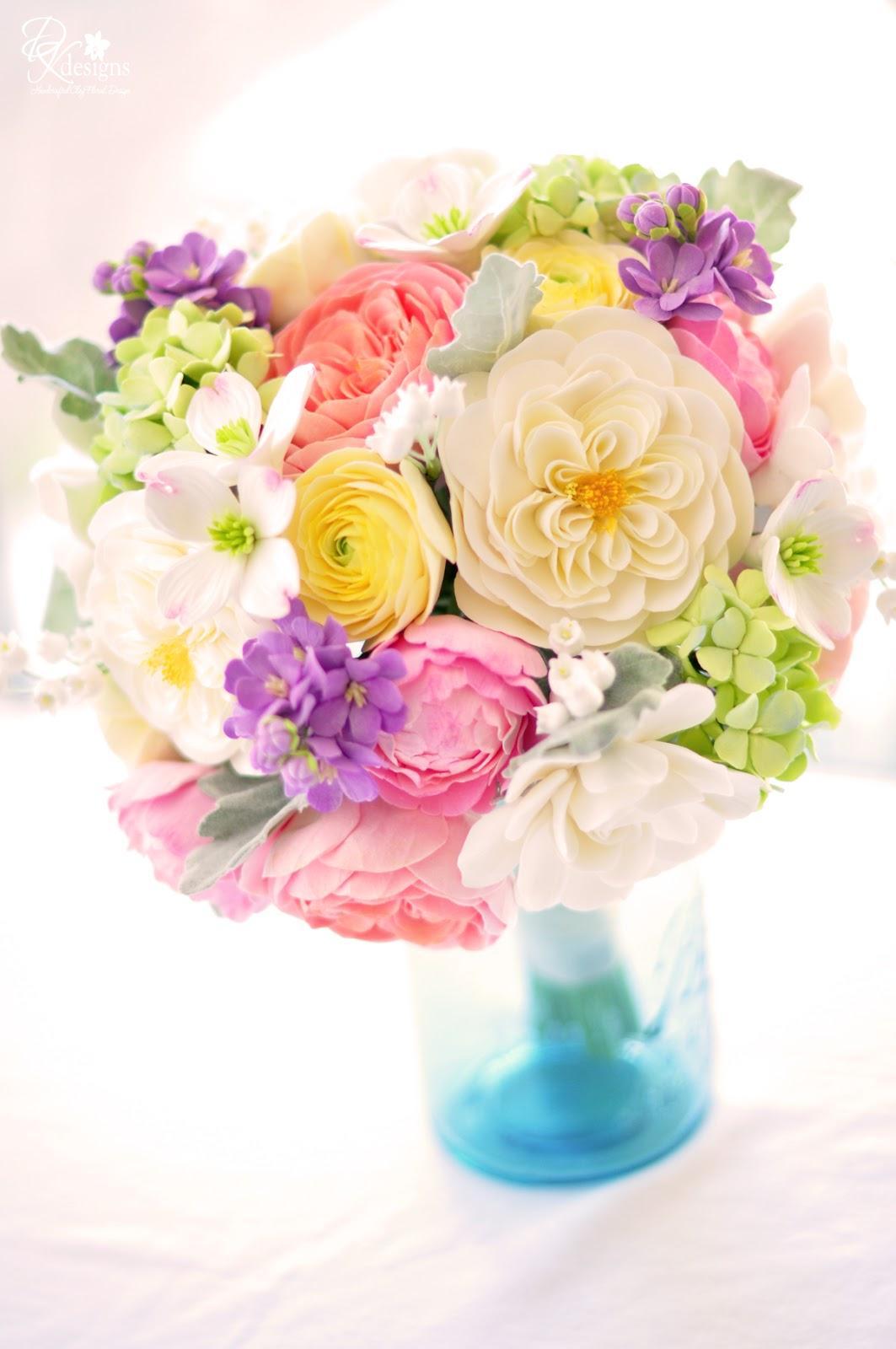 Vintage Inspired Bouquet Dk Designs