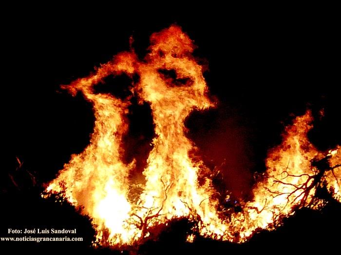 Fotos incendio tamaraceite lomo los frailes