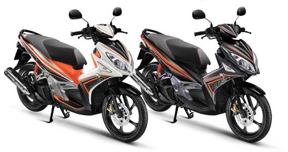 Modifikasi Scooter Matic NOUVO elegance 1 Spesifikasi. title=