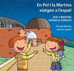 En Pol i la Martina viatgen a l'espai