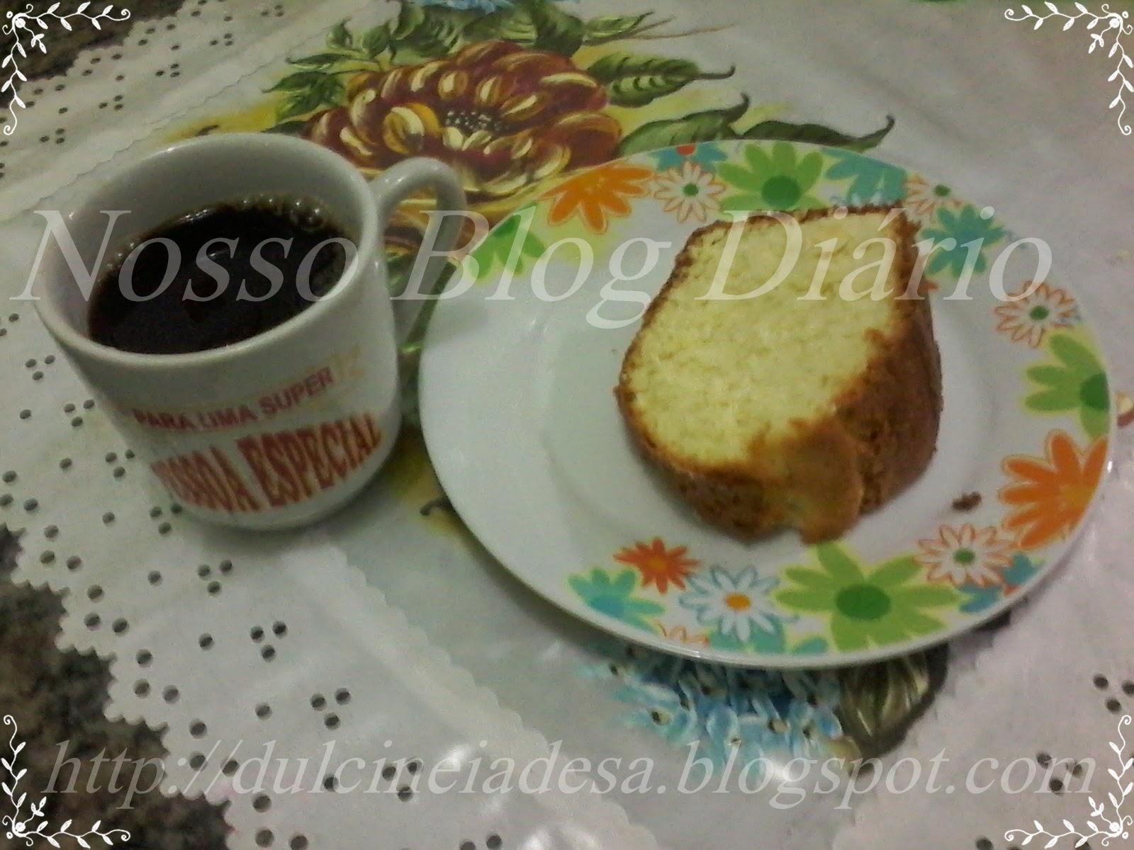 Nosso Blog Diário/Dulcinéia de Sá/Receita de bolo de coco.