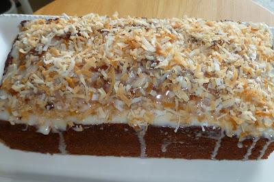 Coconut Buttermilk Pound Cake - made March 9, 2013 from Martha Stewart