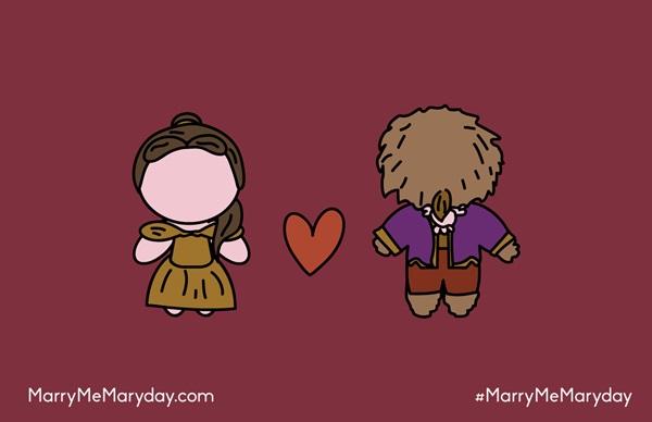 Ilustração: Pedido de Casamento ao Estilo Geek