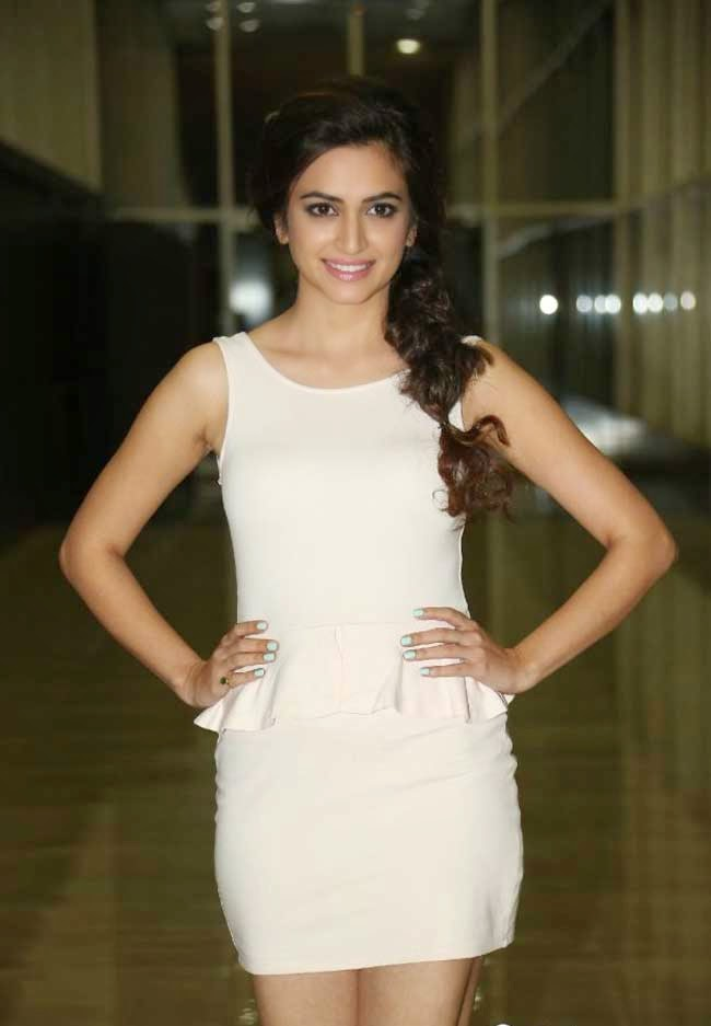 Kriti Kharbanda with Braided Hairstyle