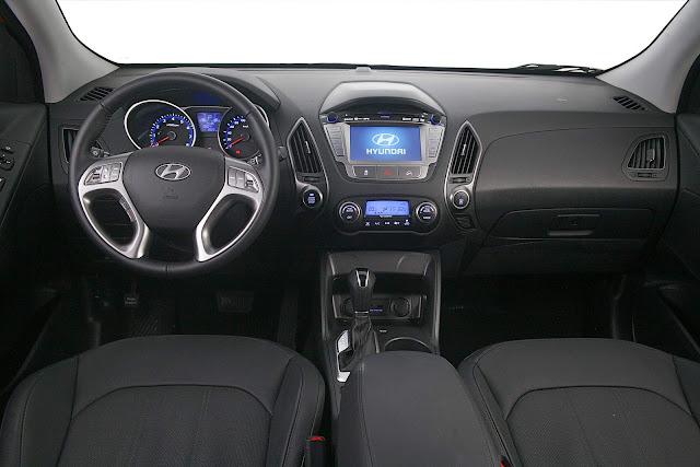 Hyundai New ix35 2016 - interior - painel