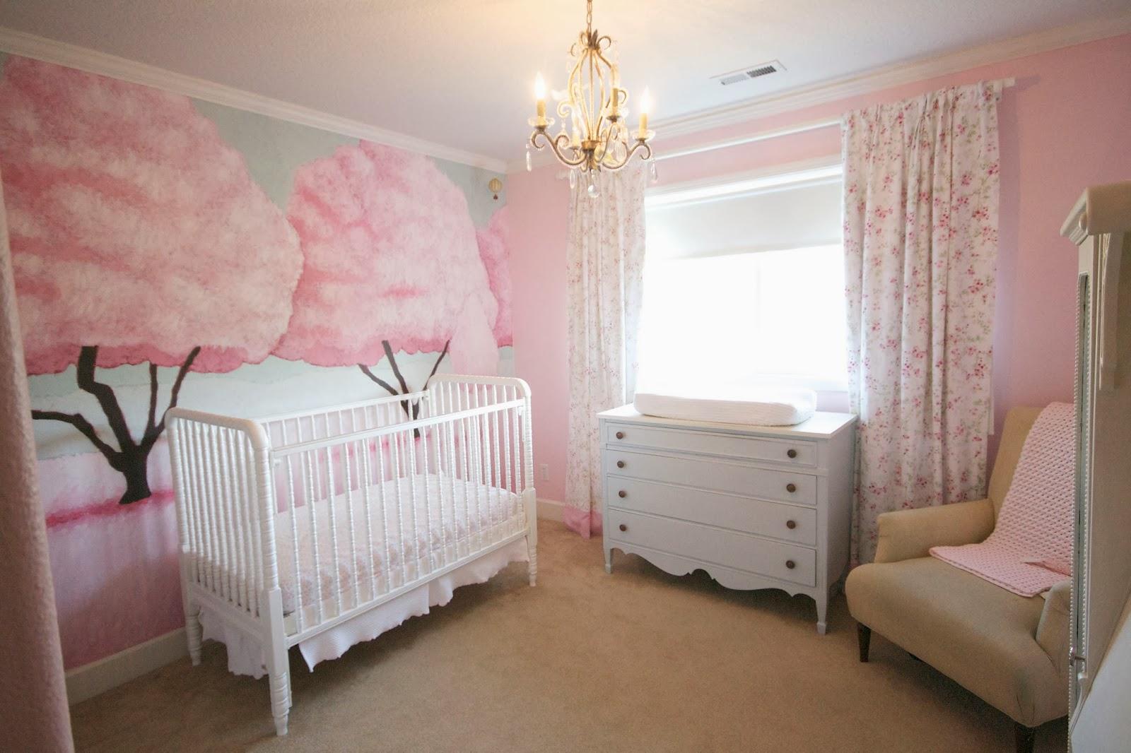 Dear Alisha Sugary Sweet Cotton Candy Pink Baby Girl S Room