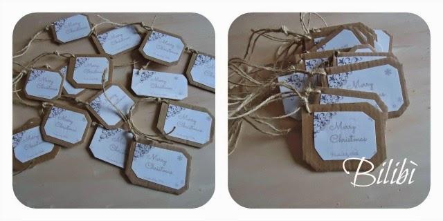Ben noto Bilibì: Etichette, bustine e segnaposti… YB51