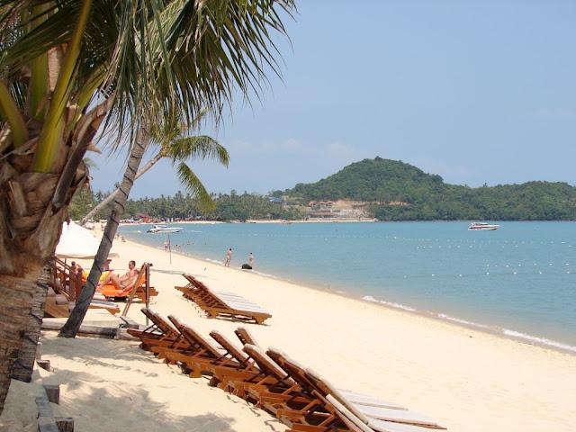 Bo Phut bãi biển dài nhất ở Koh Samui