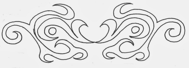 Armband tattoo stencil
