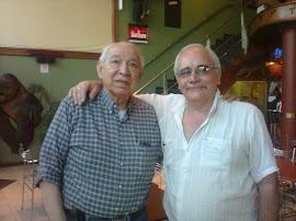 Con Walter Benítez ,el Maestro