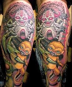 Melhores tatuagens de macaco fotos