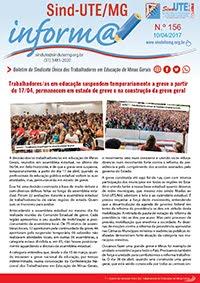 Boletim Inform@ nº 156 - Estadual
