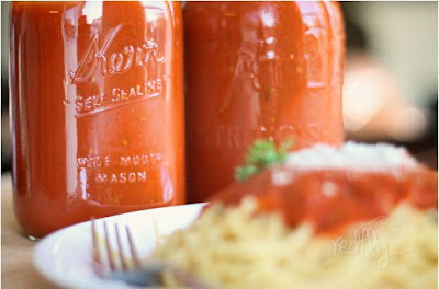 Homemade, All Natural Spaghetti Sauce
