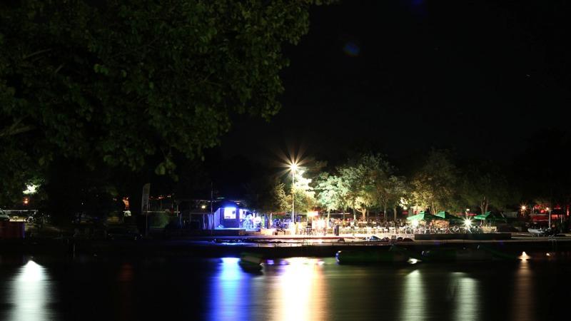 croazia, vista notturna