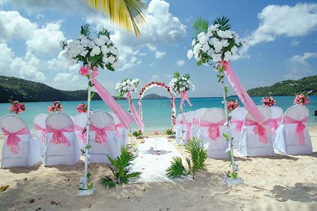 Cheap beach wedding ideas 1