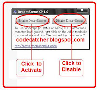 DreamScene Enable/Disable