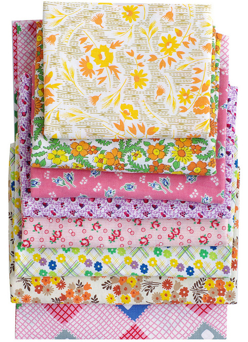 Vintage Fabrics - quilting cottons