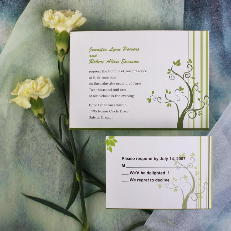 invitacion electrónica en comparación con las invitaciones de boda
