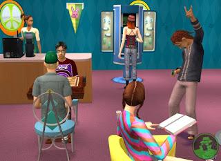 Sims 2 university Game