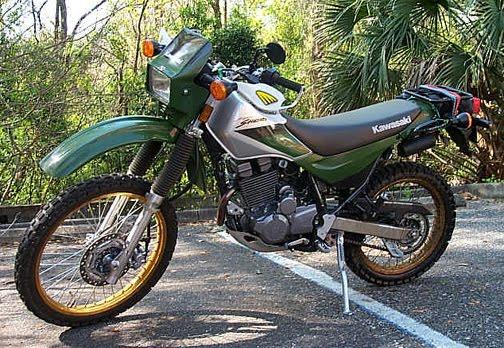 Kawasaki Klr  Super Sherpa
