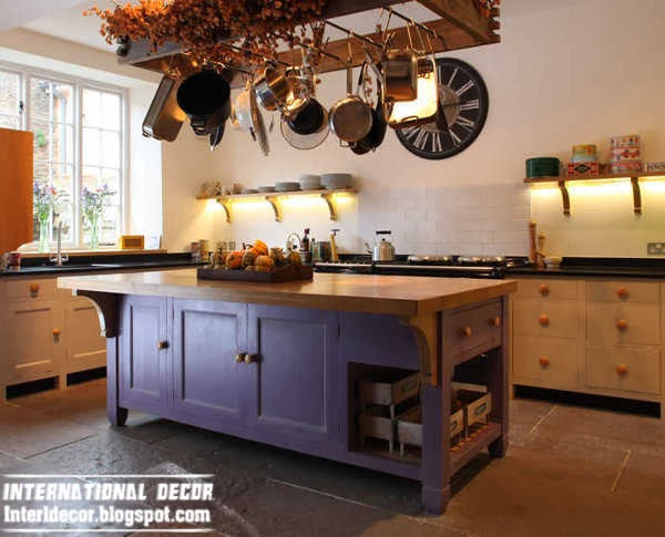rustic style kitchen island design, ideas