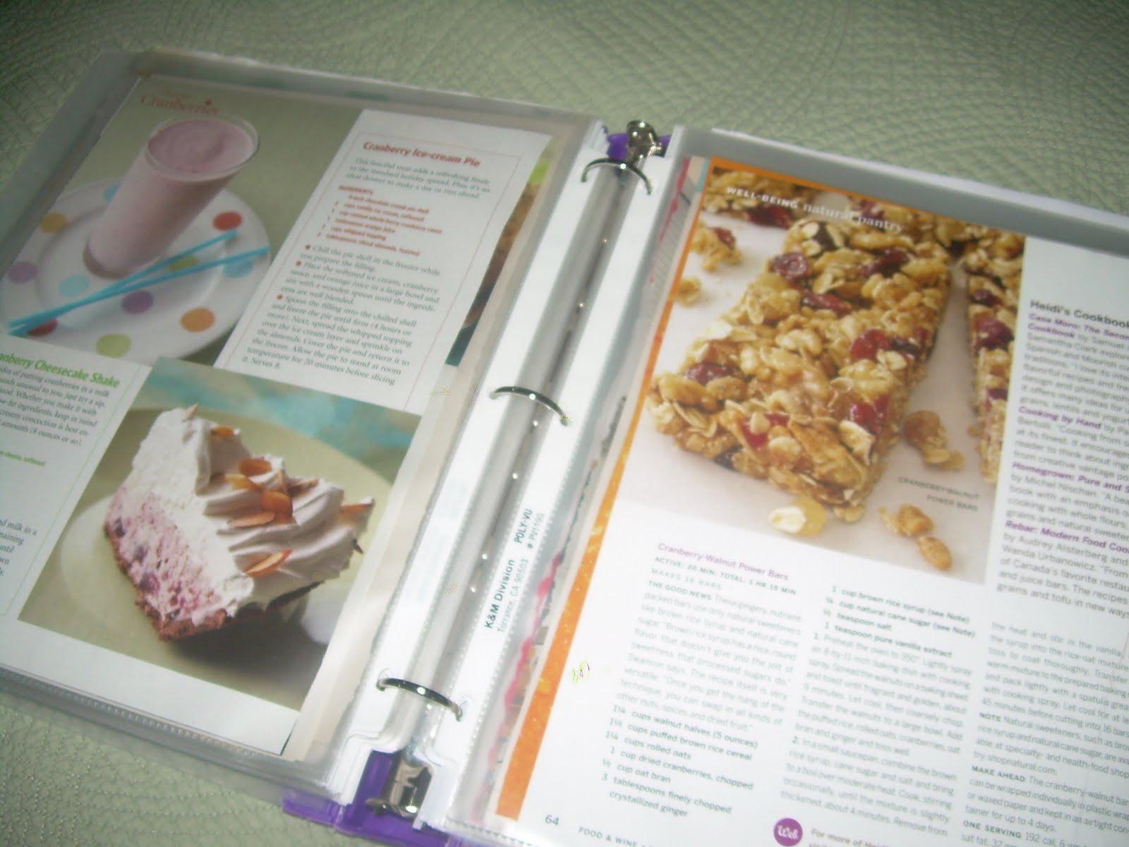 Cranberry Corner: Idea Binder and Blackberry Buttermilk Cake