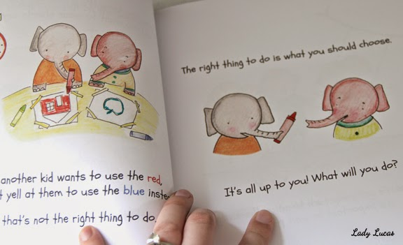The Right Thing to Do by Teresa Chi / Illustrated by Ashley Lucas
