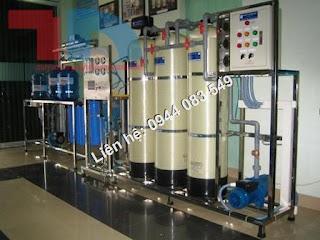 Hệ thống lọc nước tinh khiết 1000lit/ h, Dây chuyền máy lọc nước tinh khiết