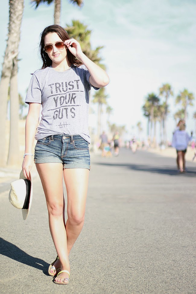 Trust Your Guts tee