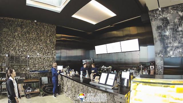 Monsant Cafe몽상 @ Jeju Island - Order counter