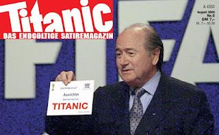 WM 2006 Sepp Blatter Titanic Cover