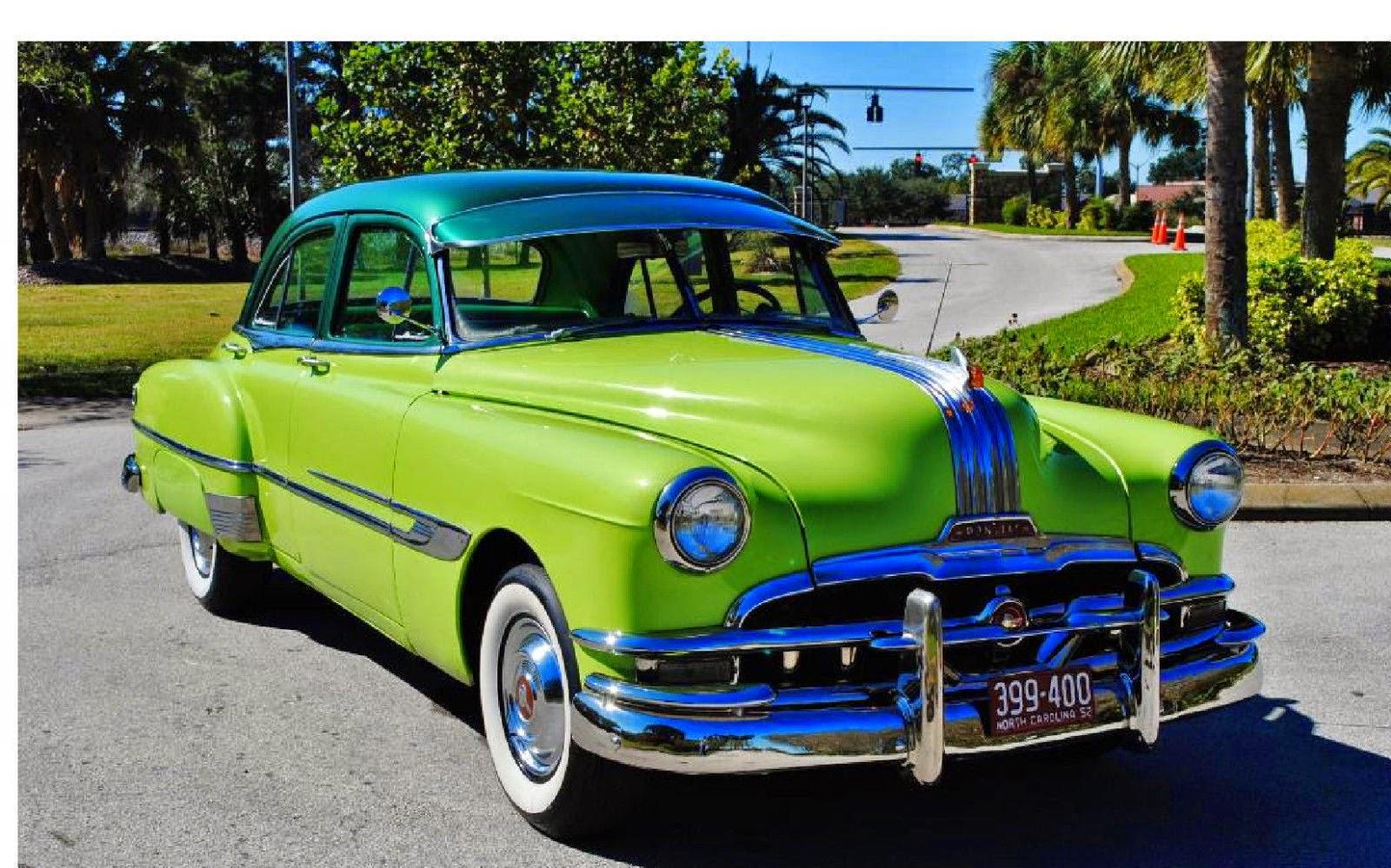 All american classic cars 1952 pontiac chieftain deluxe 4 for 1952 chevrolet 4 door sedan