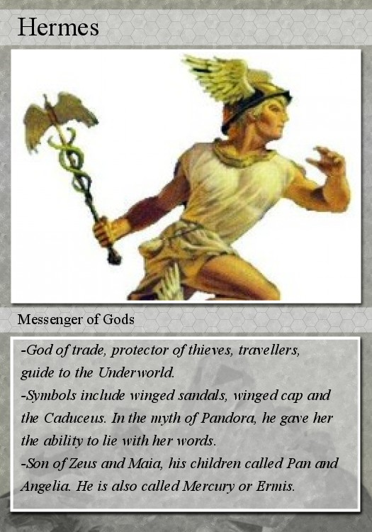 My Reading Log Hermes The Messenger Of The Greek Gods