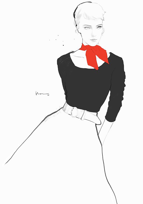 ©Floyd Grey (Ng Chun Fui) - Fashion Illustration
