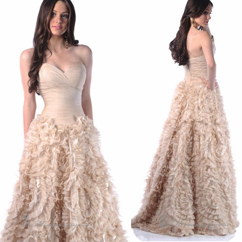 trendy and exotic corset prom dresses to make you look