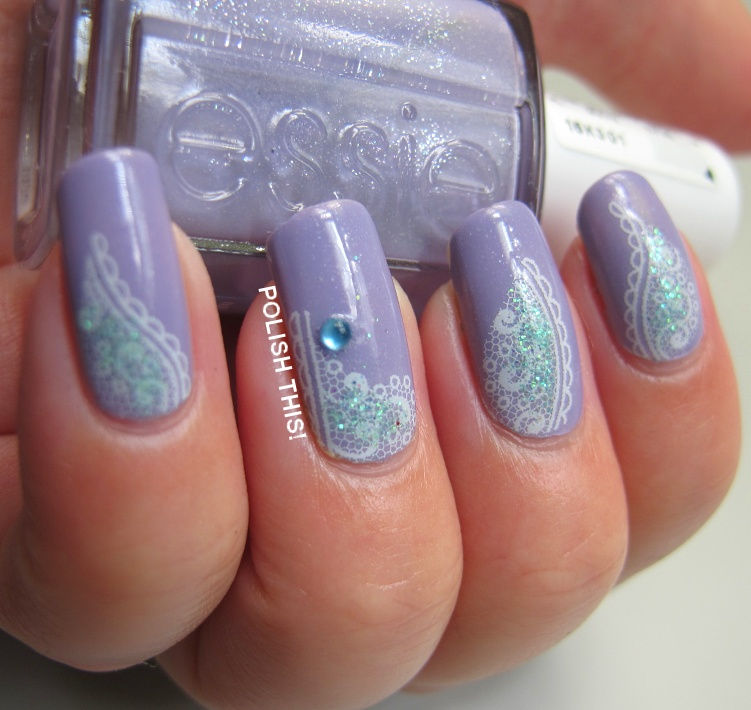 Essie Nail Appliques: Three Manicures With Essie Summer 2013 Polishes