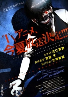 [ Info-Anime ] Shuhei Morita Sutradarai Anime Adaptasi Tokyo Ghoul Pada Musim Panas Tahun Ini
